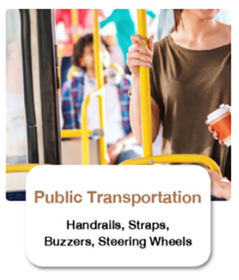 Antimicrobial Protection on Environmental Public Transport