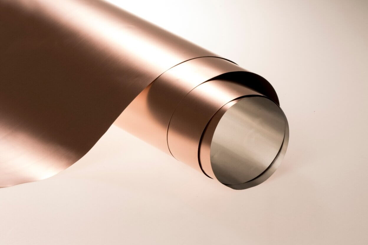 copper film rolls to fight virus